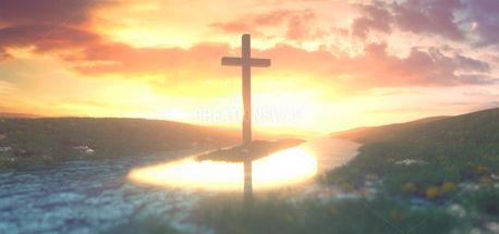 Panorama Cross Background (99844)