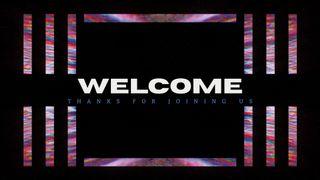 Neon Welcome Slide