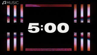 Neon 5 Minute Countdown